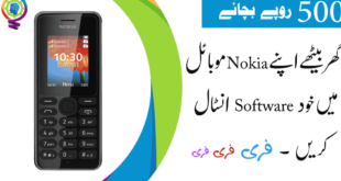 How to Install Software In Nokia Mobile 108 RM944
