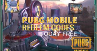 pubg Mobile redeem codes today free